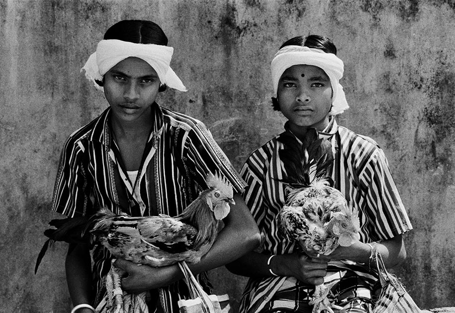 01_indian.tribal.boys.stripes.bastar.roosters.blackandwhite.jpg